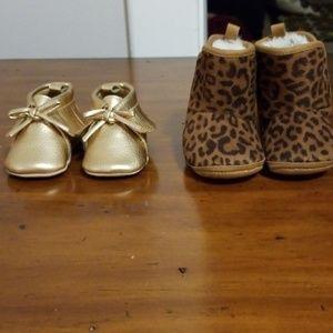 Infant girls booties